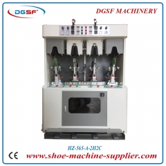 Double cold and double hot sweeping type counter moulding machine